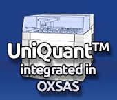 UniQuant integrated in OXSAS
